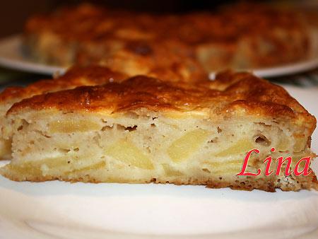 Пирог с яблоками НЕЖНЫЙ