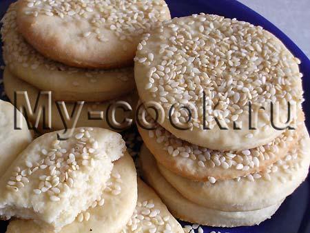 Постное печенье на рассоле рецепт